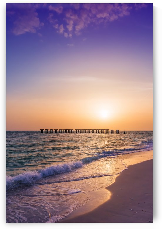 Gasparilla Island Sunset by Melanie Viola