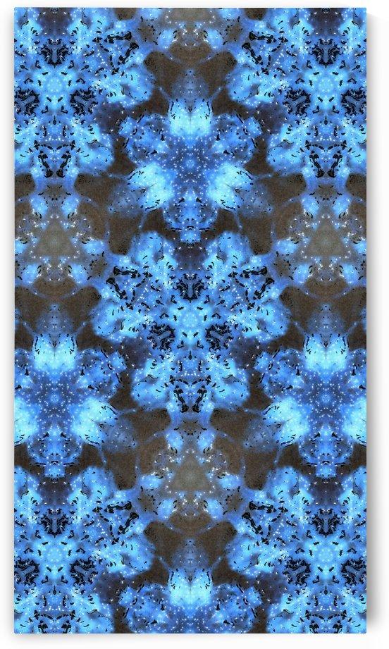 Kaleidoscope Burst of Blue  by Jeremy Lyman