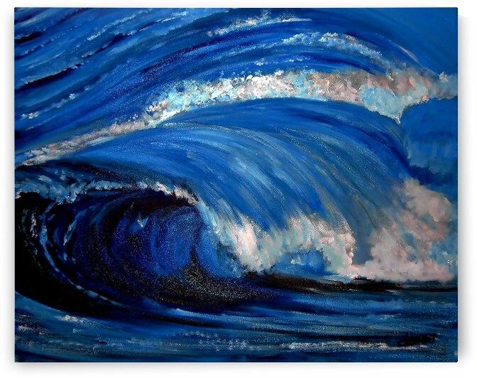 AO - Big Sea Wave by Clement Tsang