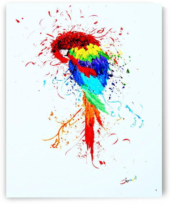 AN01 - The Colorful Parrot by Clement Tsang