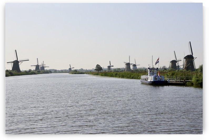 The Dutch Waterway by Edwin De Smet