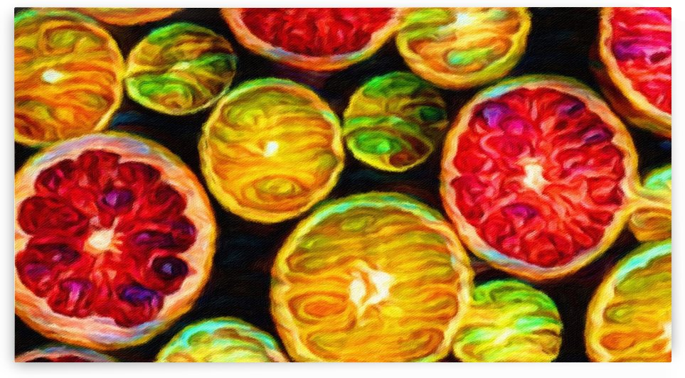 FRUITS COLORS by George Bloise
