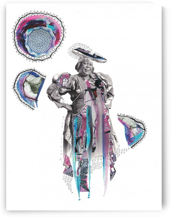 Herero Woman 6 by Marie-Denise Douyon