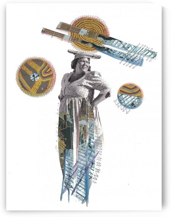 Herero Woman 5 by Marie-Denise Douyon
