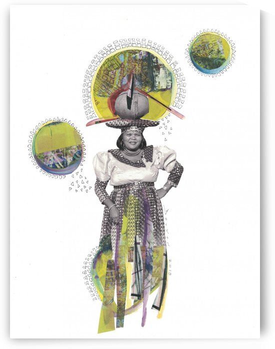 Herero Woman 4 by Marie-Denise Douyon