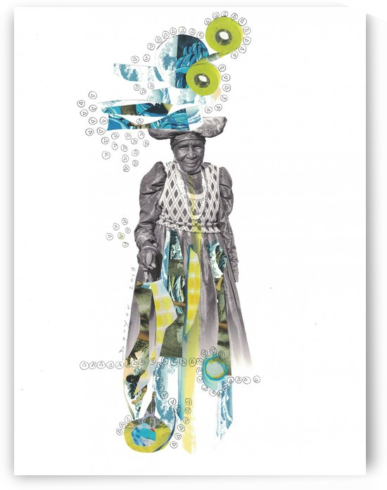 Herero woman 2 by Marie-Denise Douyon