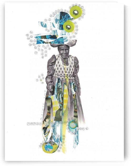 Herero woman 2 by Marie-Denise Douyon