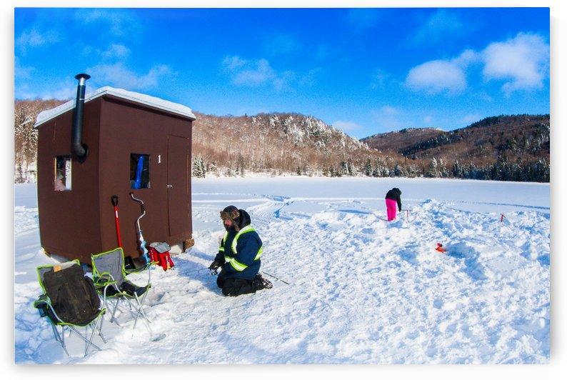 Pêche sur glace by agencetourdumonde com