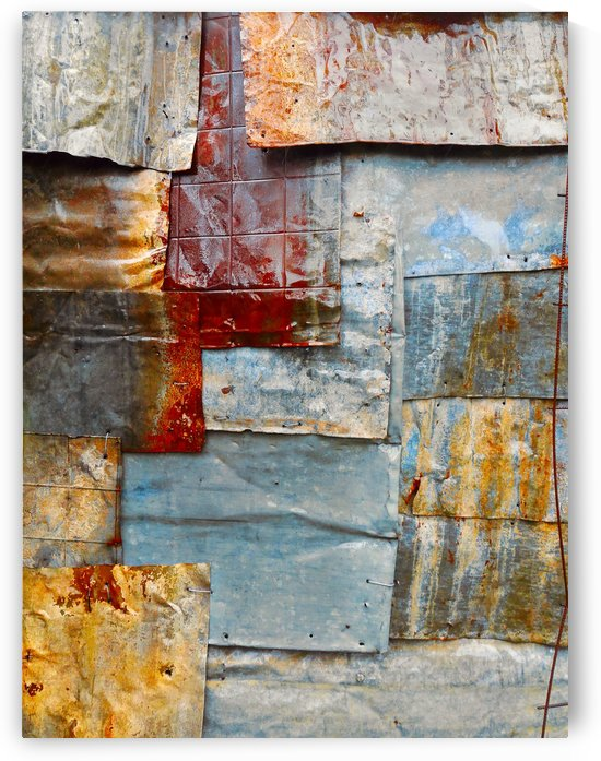 Corrugated Iron Series 17 by Lexa Harpell