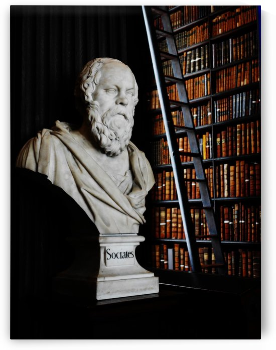Socrates A Writer Of Knowledge by Lexa Harpell