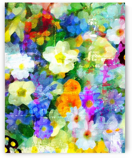 Garden Party by Connie Schofield Art