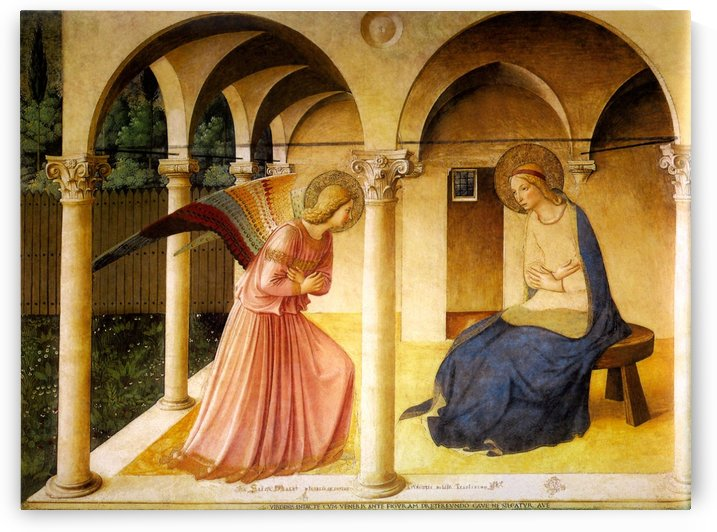 The Announcement by Fra Angelico
