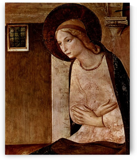 Announciation of Virgin Mary by Fra Angelico
