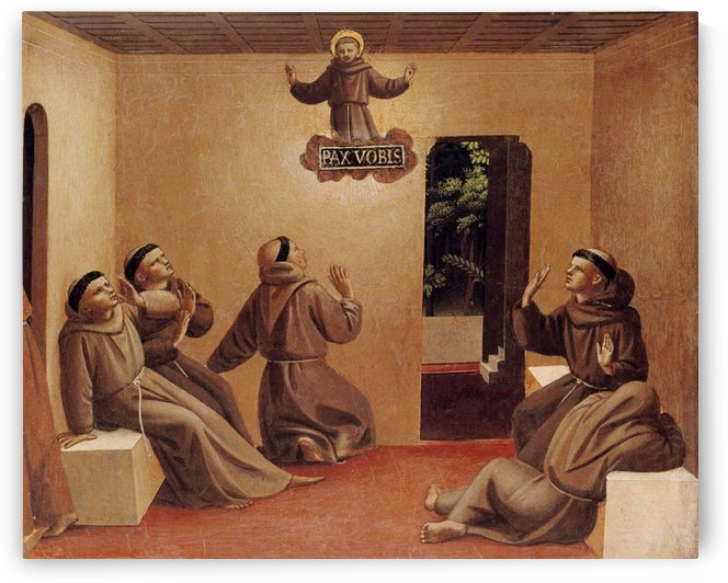 Apparition of St. Francis at Arles by Fra Angelico
