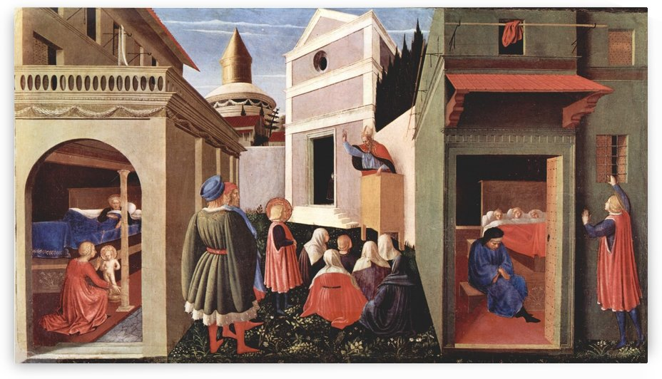 Public area by Fra Angelico