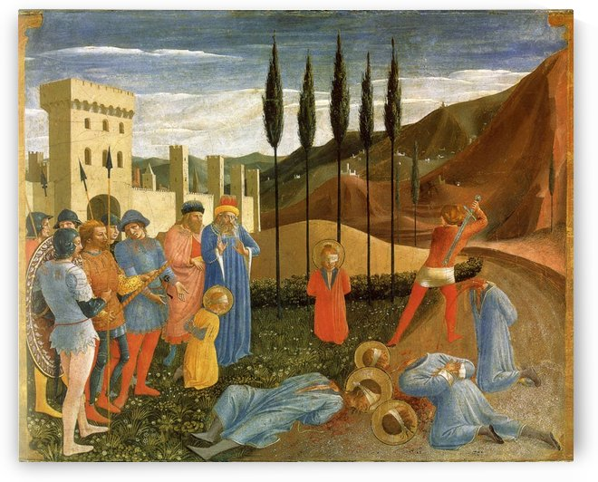 Public execution by Fra Angelico