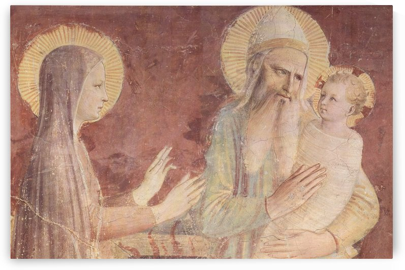 Holly scene by Fra Angelico