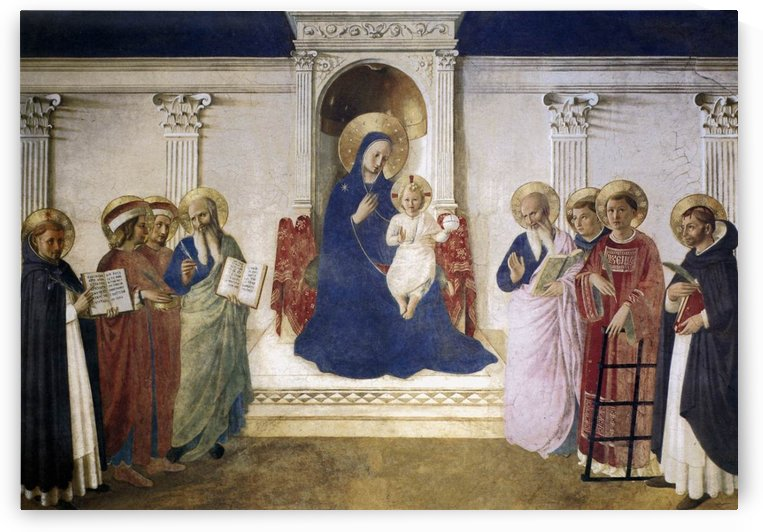 Sacred Conversation by Fra Angelico