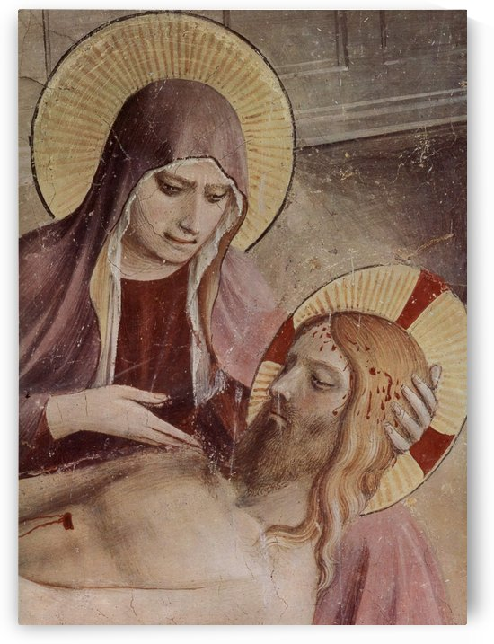 Virgin Mary anf Christ by Fra Angelico