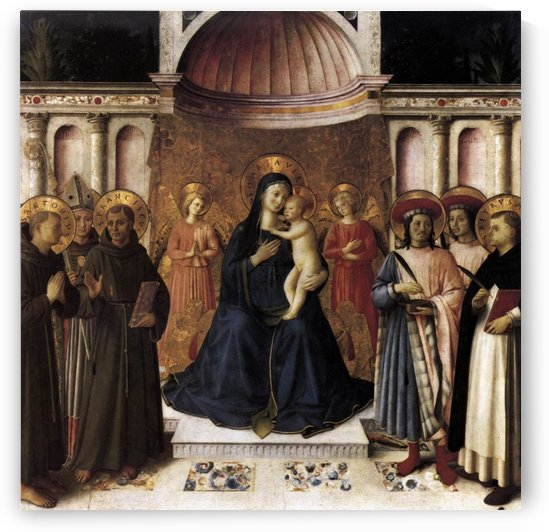 Bosco ai Frati Altarpiece by Fra Angelico