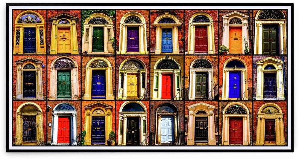 Georgian Doors of Dublin 1 by Lexa Harpell