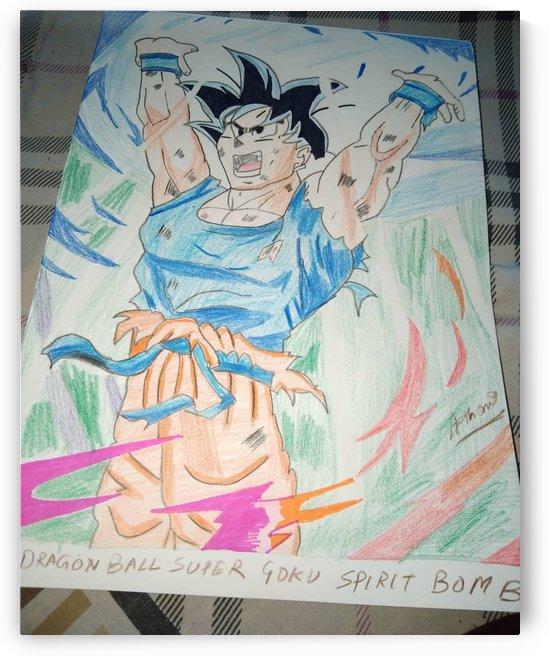 GOKU SPIRIT BOMB by Rapier