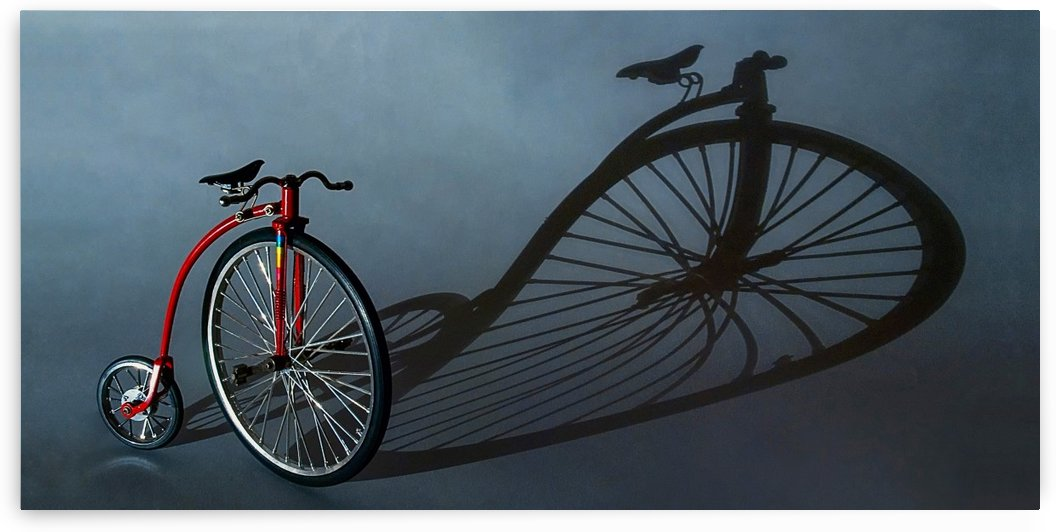 Old Bike by Lily Markovic