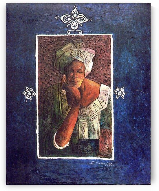 Femme au turban by Marie-Denise Douyon
