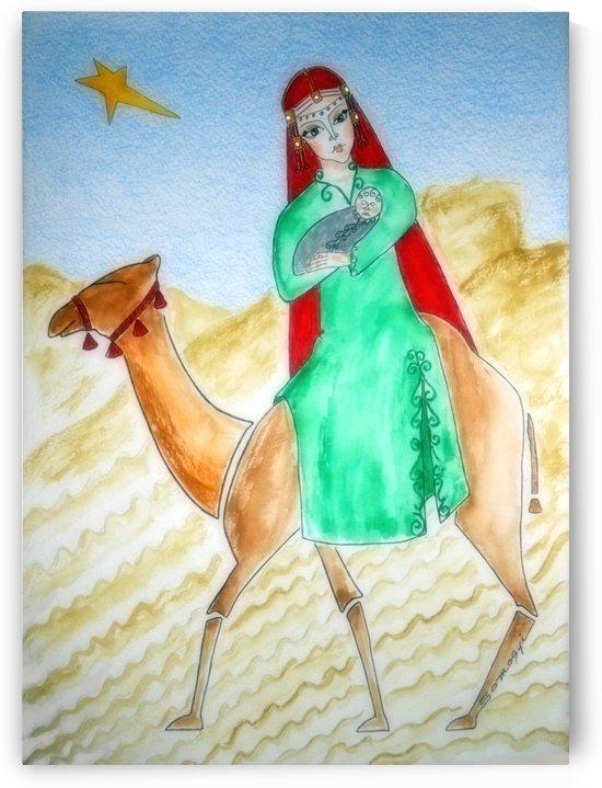 Through the Desert to Nazareth by Jayne Somogy