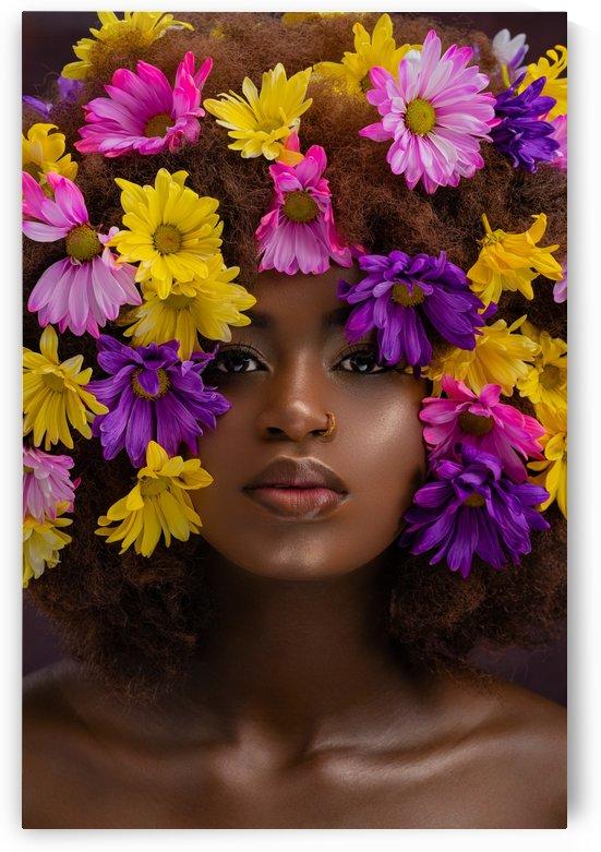 Beauty Flower Headshot by JeffHonforloco