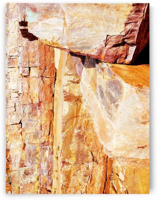 Australia Rocks - Abstract 12 by Lexa Harpell