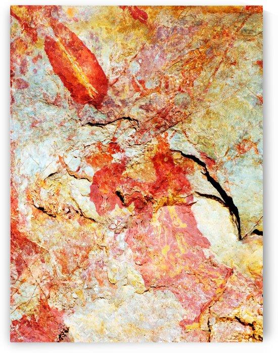 Australia Rocks - Abstract 17 by Lexa Harpell