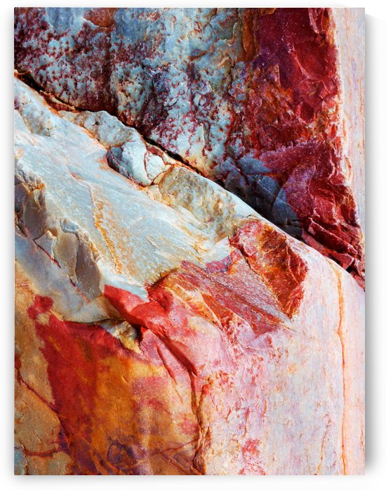 Australia Rocks - Abstract 18 by Lexa Harpell