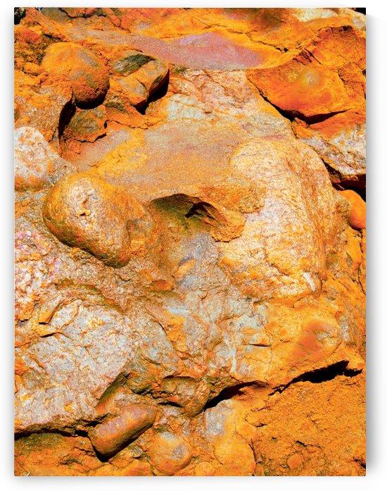 Australia Rocks - Abstract 24 by Lexa Harpell