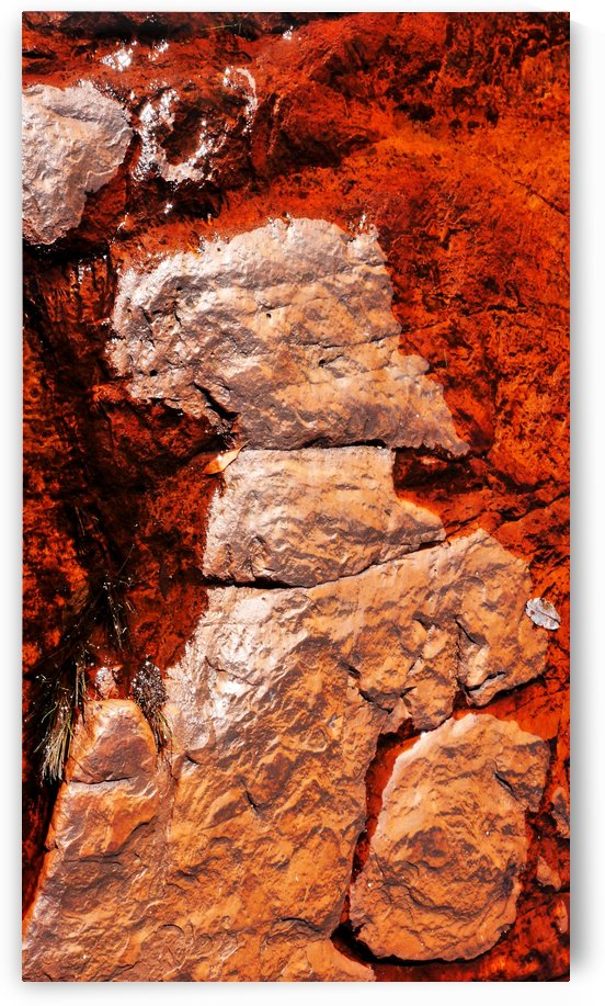 Australia Rocks - Abstract 27 by Lexa Harpell