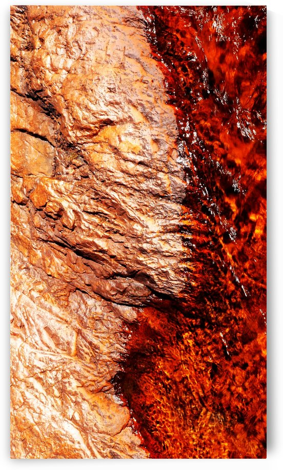 Australia Rocks - Abstract 28 by Lexa Harpell