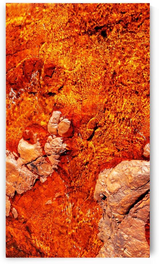 Australia Rocks - Abstract 29 by Lexa Harpell