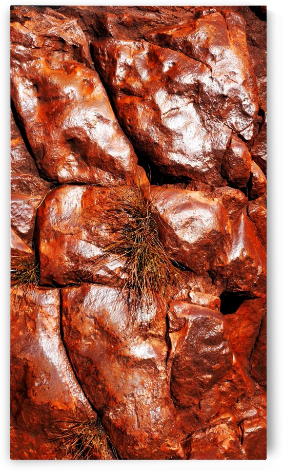 Australia Rocks - Abstract 30 by Lexa Harpell
