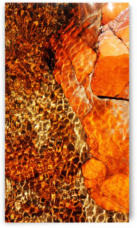 Australia Rocks - Abstract 32 by Lexa Harpell