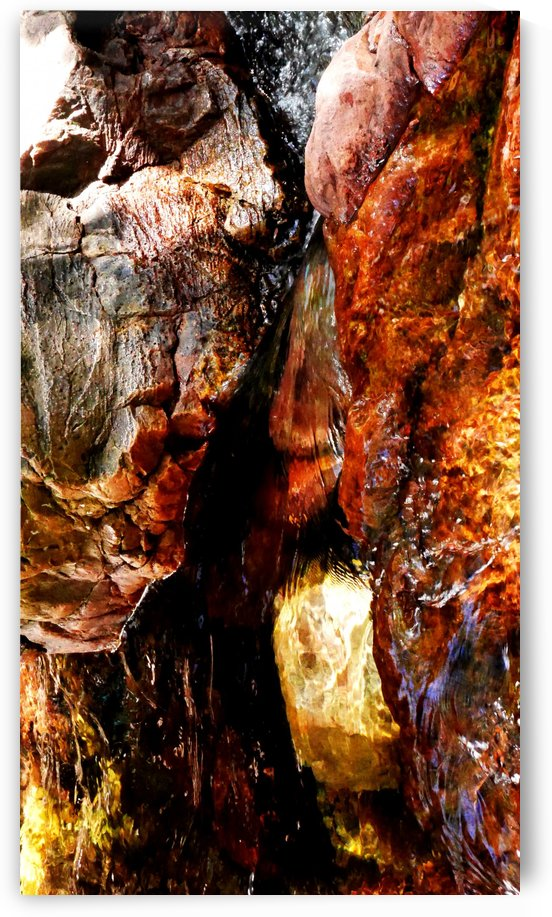 Australia Rocks - Abstract 37 by Lexa Harpell