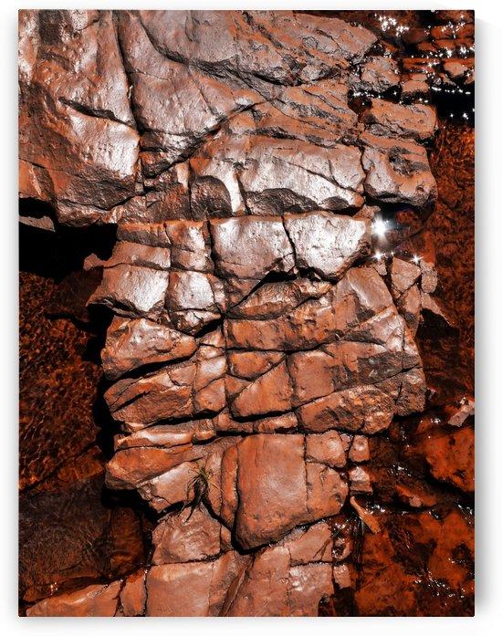 Australia Rocks - Abstract 38 by Lexa Harpell