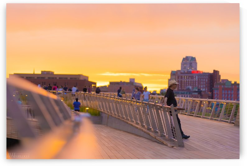 Providence Pedestrian Bridge  by JeffHonforloco