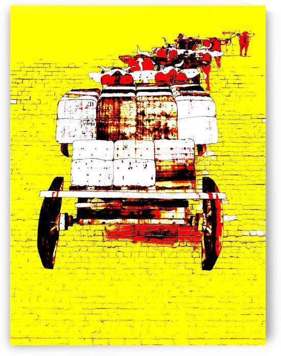Bullock Team - Yellow by Lexa Harpell