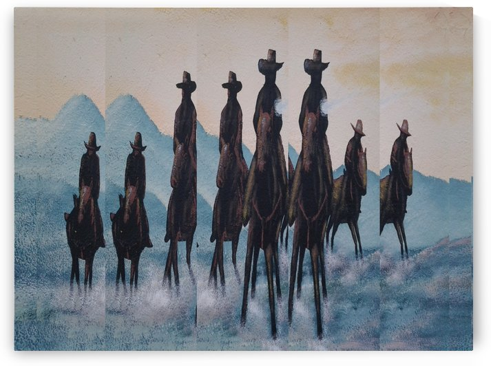 Posse by Efrain Montanez