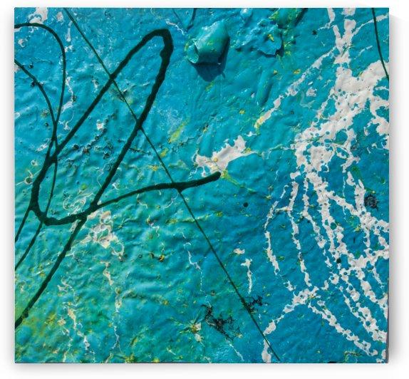 lines ledges  blue space by BBS Art