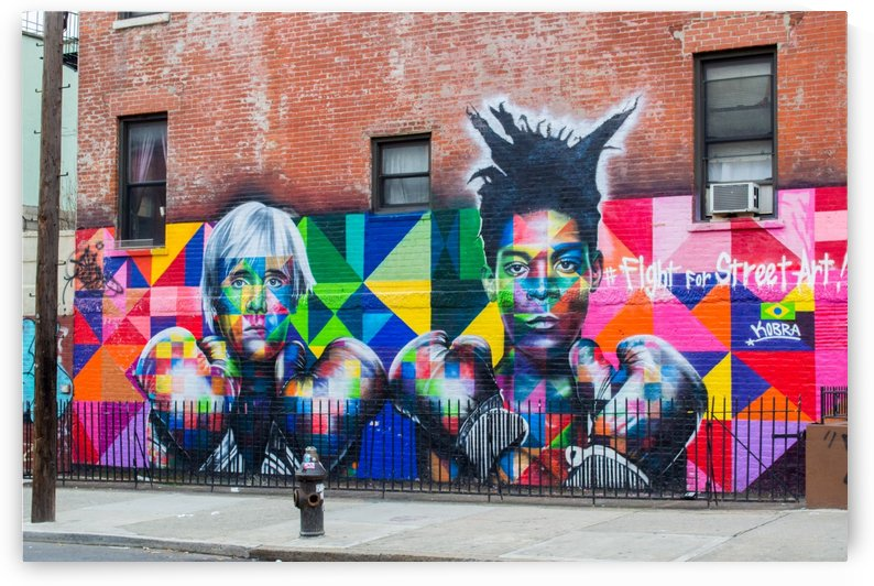 Fight for Street Art by Tiffany Ross