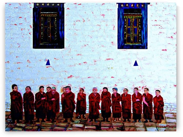 F16 - Tibet Monks by Clement Tsang