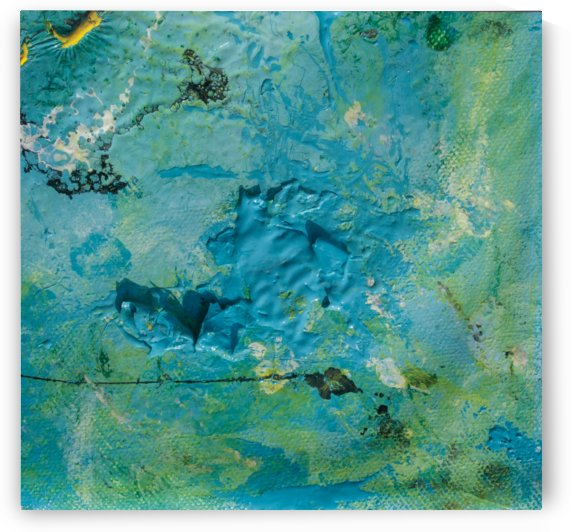 abstract blue sea sinkhole by BBS Art