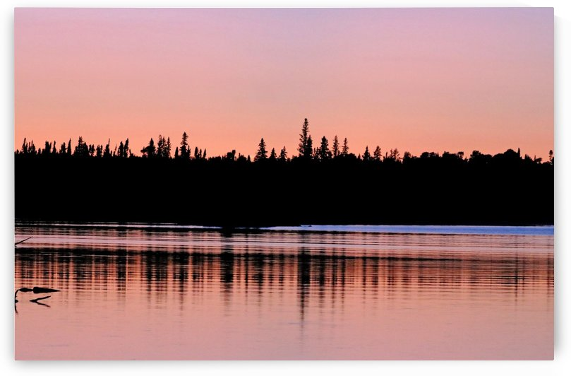 Rosy Sunset by Deb Oppermann