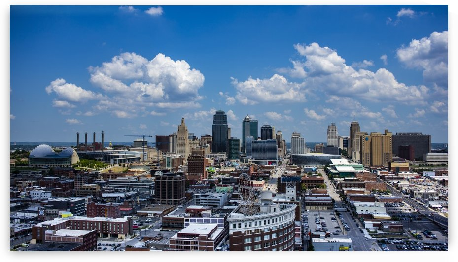 Kansas City Skyline 1 by CainPhotog